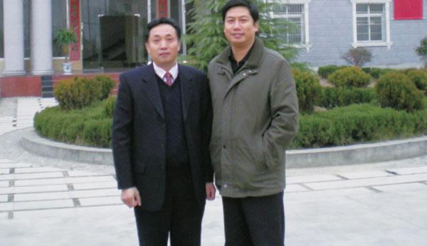 科技部办公厅主任吴远彬在公司调研