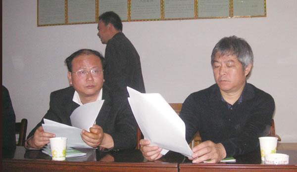 原省科技厅厅长、现教育部科教司长王延觉视察公司