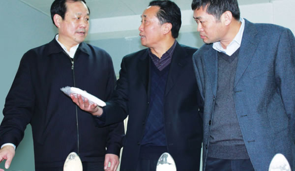 省科技厅厅长刘传铁在公司调研