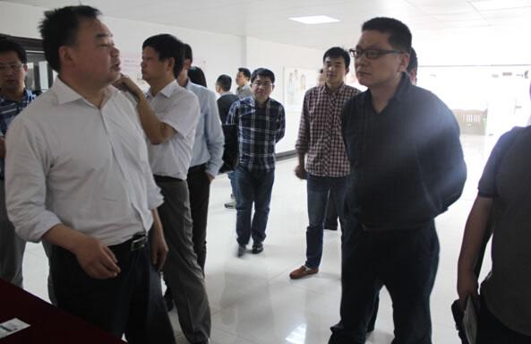 武汉大学科技园有限公司总经理宋宏杰莅临我公司考察鸡蛋深加工情