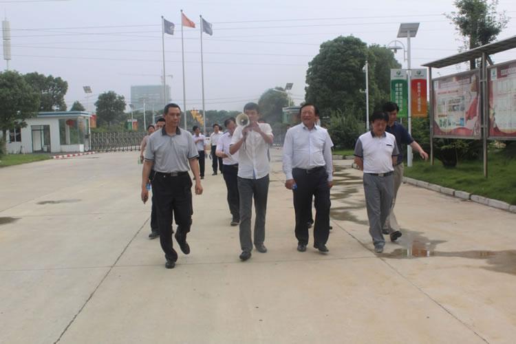 中国农业发展集团有限公司董事长刘身利同志莅临亚博app官网公司参观指导